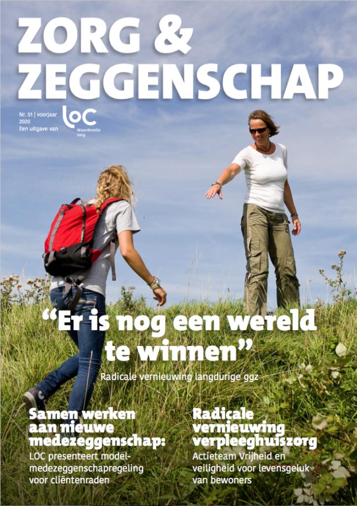 Voorpagina LOC-tijdschrift voorjaar 2020